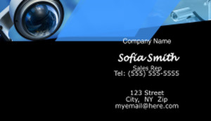 Security Business Cards Template: 597633