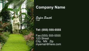 Landscaping Services Business Cards Template: 335195