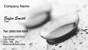 Optometrist Business Cards Template: 328492