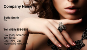Jewelry Business Cards Template: 333347