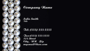 Jewelry Business Cards Template: 333351