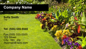 Landscaping Services Business Cards Template: 335206