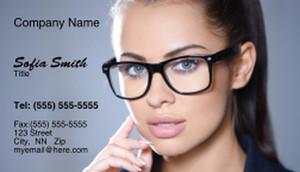 Optometrist Business Cards Template: 328468
