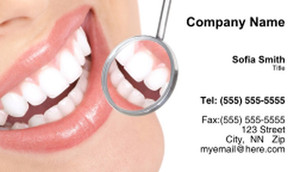 Dentistry Business Cards Template: 334990