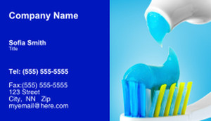 Dentistry Business Cards Template: 334962