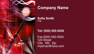 Dentistry Business Cards Template: 334982