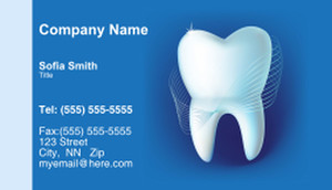 Dentistry Business Cards Template: 334984