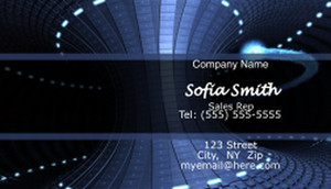 Electronics Business Cards Template: 597049
