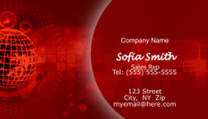 Electronics Business Cards Template: 597053