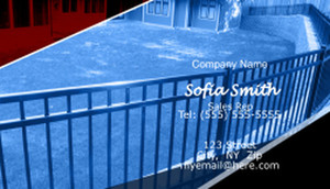 Fences Business Cards Template: 597093