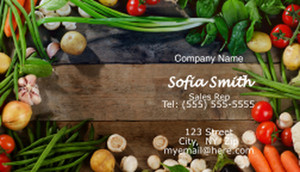 Food Business Cards Template: 597157