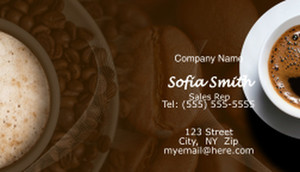 Food Business Cards Template: 597161