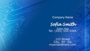Electronics Business Cards Template: 597037