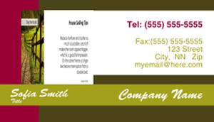 Concepts Business Cards Template: 309118