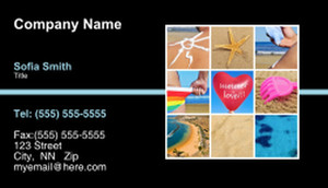 Button to customize design Travel Agencies  Business Cards Template: 333415