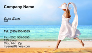 Travel Agencies  Business Cards Template: 333419