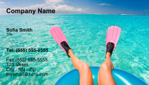 Travel Agencies  Business Cards Template: 333426