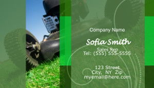 Landscaping Business Cards Template: 597385