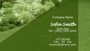 Landscaping Business Cards Template: 597393