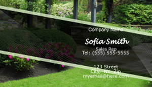 Landscaping Business Cards Template: 597401