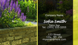 Landscaping Business Cards Template: 597405