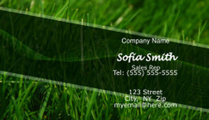 Landscaping Business Cards Template: 597409