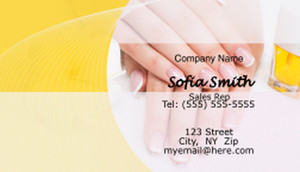 Nails / Manicures Business Cards Template: 597469