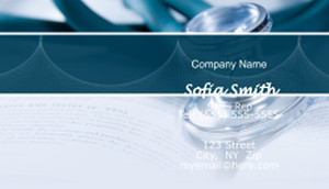Health Care Business Cards Template: 597265