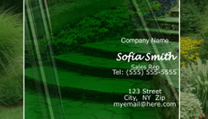 Landscaping Business Cards Template: 597373