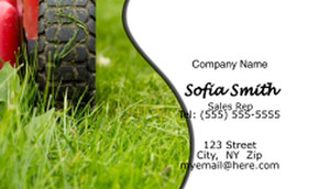 Landscaping Business Cards Template: 597381