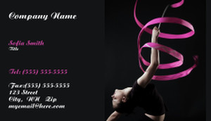 Gym - Fitness Classes Business Cards Template: 333266