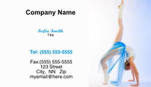 Dance & Choreography Business Cards Template: 334939