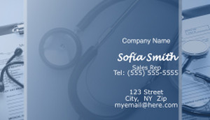 Health Care Business Cards Template: 597229