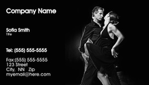 Dance & Choreography Business Cards Template: 334936