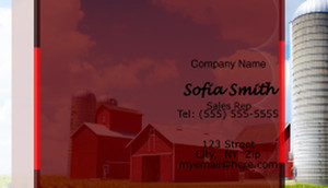 Farms / Agriculture Business Cards Template: 597081