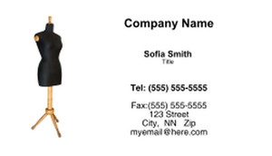 Seamstress Business Cards Template: 335177