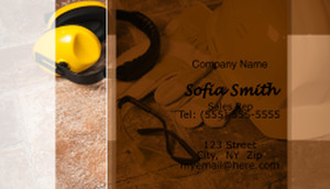 Contractors Business Cards Template: 596929