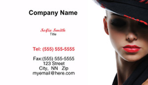 High Fashion Business Cards Template: 333783