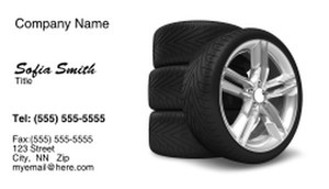 Cars Business Cards Template: 328717