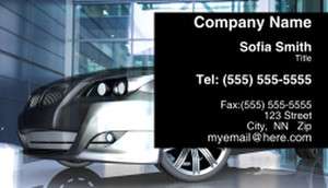 Cars Business Cards Template: 309935