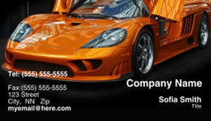 Cars Business Cards Template: 309941