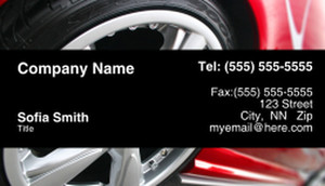 Cars Business Cards Template: 309945