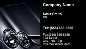 Cars Business Cards Template: 309841
