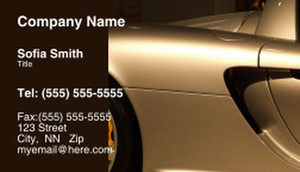 Cars Business Cards Template: 309899
