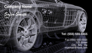 Cars Business Cards Template: 328713