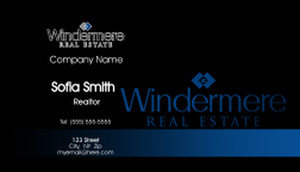 Windermere Business Cards Template: 528373