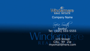 Windermere Business Cards Template: 528379