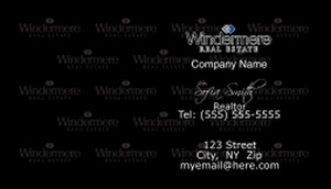 Windermere Business Cards Template: 528337
