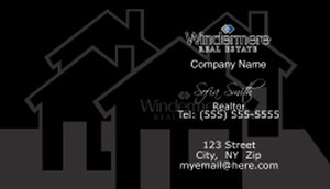 Windermere Business Cards Template: 528339