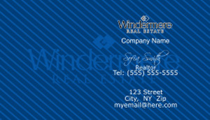 Windermere Business Cards Template: 528341